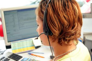 Answering a call at a modern medication therapy management contact center